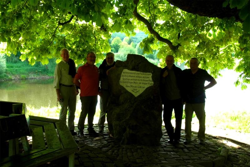 So-Weser-Ursprung mit den 5